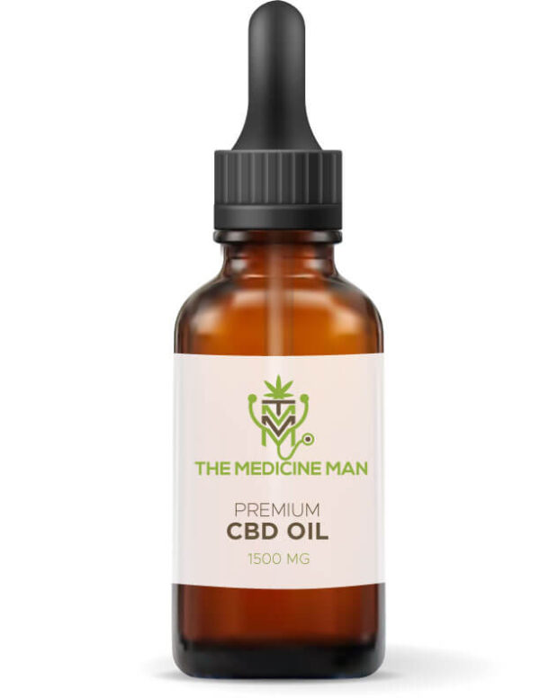 Premium CBD Oil 1500 MG by the Medicine Man